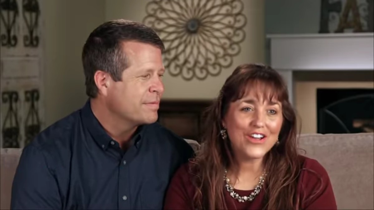 Jim Bob and Michelle Duggar in a Counting On confessional.