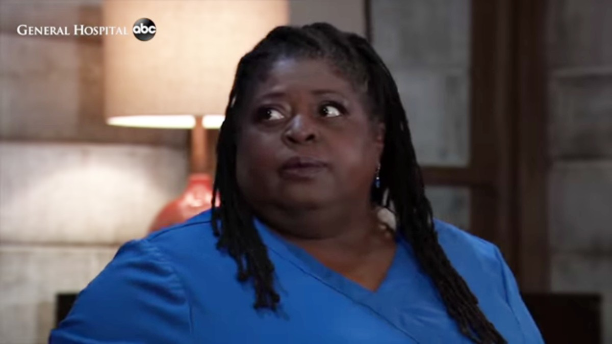 Sonya Eddy as Epiphany on General Hospital.