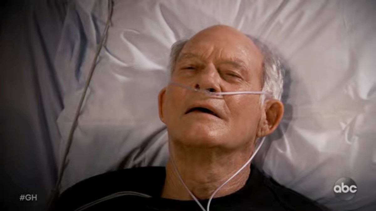 Max Gail as Mike on General Hospital.