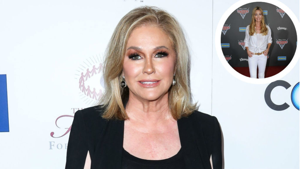 Rumors are swirling Kathy Hilton joining RHOBH following Denise Richards exit.