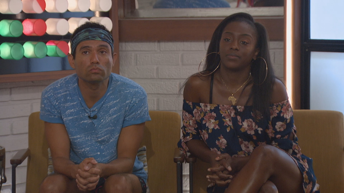 Kevin And Da'Vonne BB22 Noms