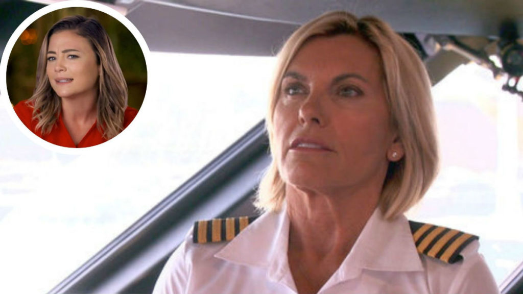 Below Deck Mediterranean star Captain Sandy Yawn thinks Malia White is secretly gay.
