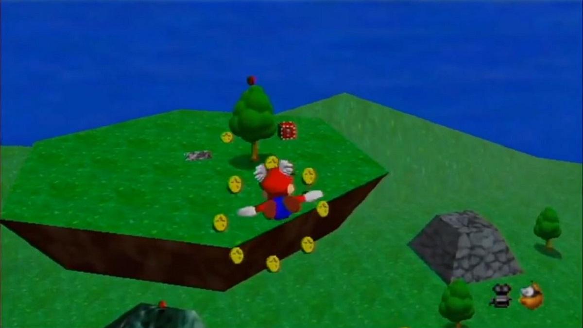 Mario Wings to the Sky