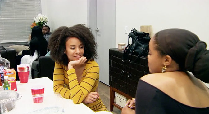 MAFS Season 11 Karen talks to Miles friends