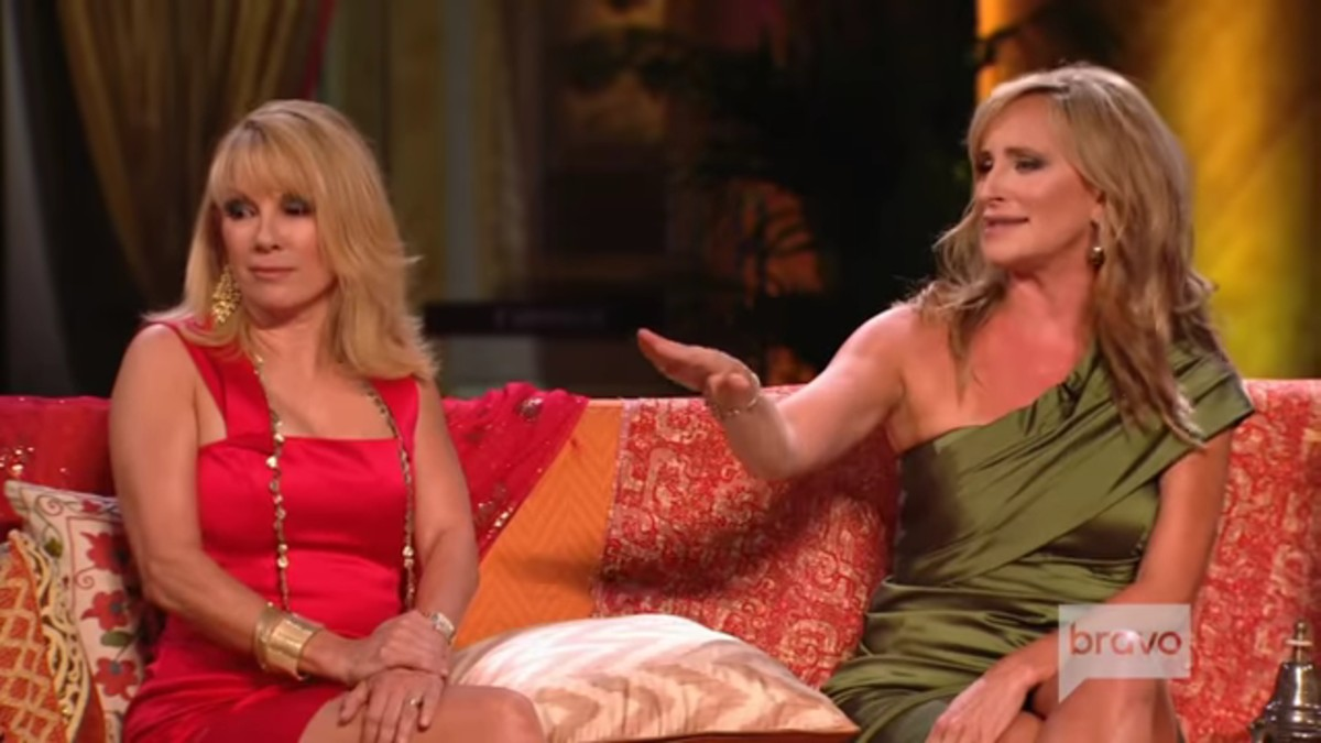 Ramona and Sonja at a RHONY reunion.