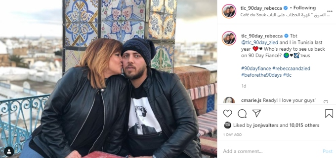 Rebecca may have spilled 90 Day Fiance spoilers