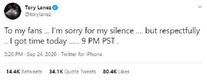 Tory Lanez S Money Over Fallouts Lyrics Rapper Denies Shooting Megan Thee Stallion Big World Tale