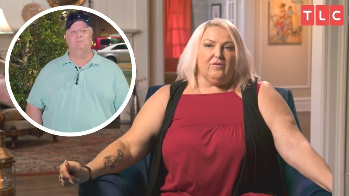 Angela Deem allegedly flirted with Chuck Potthast during 90 Day Tell All