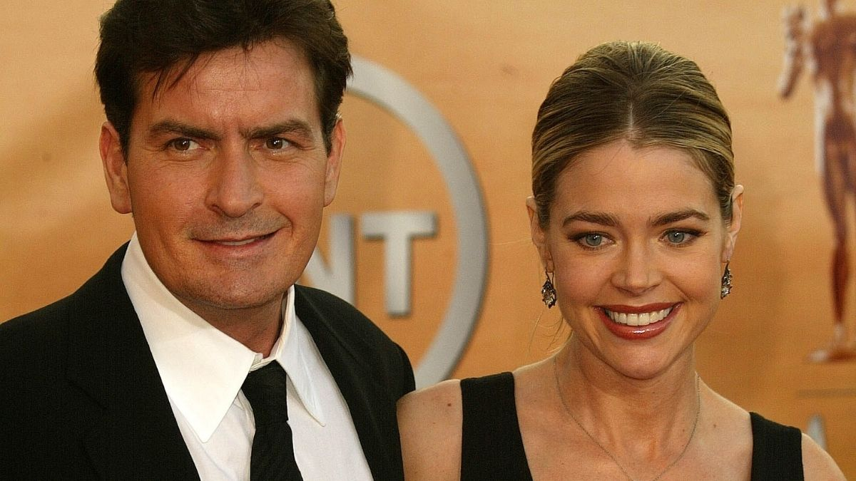 Charlie Sheen comments on Denise Richards' departure from RHOBH