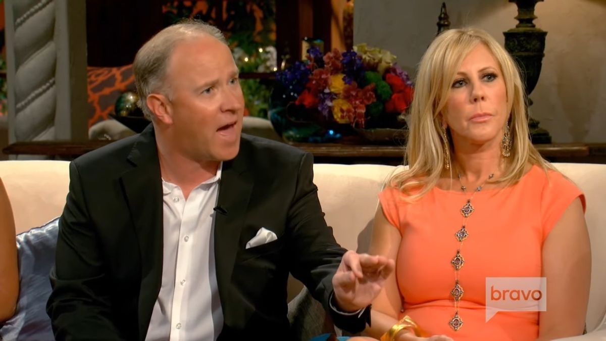Brooks and Vicki were accused of faking cancer story