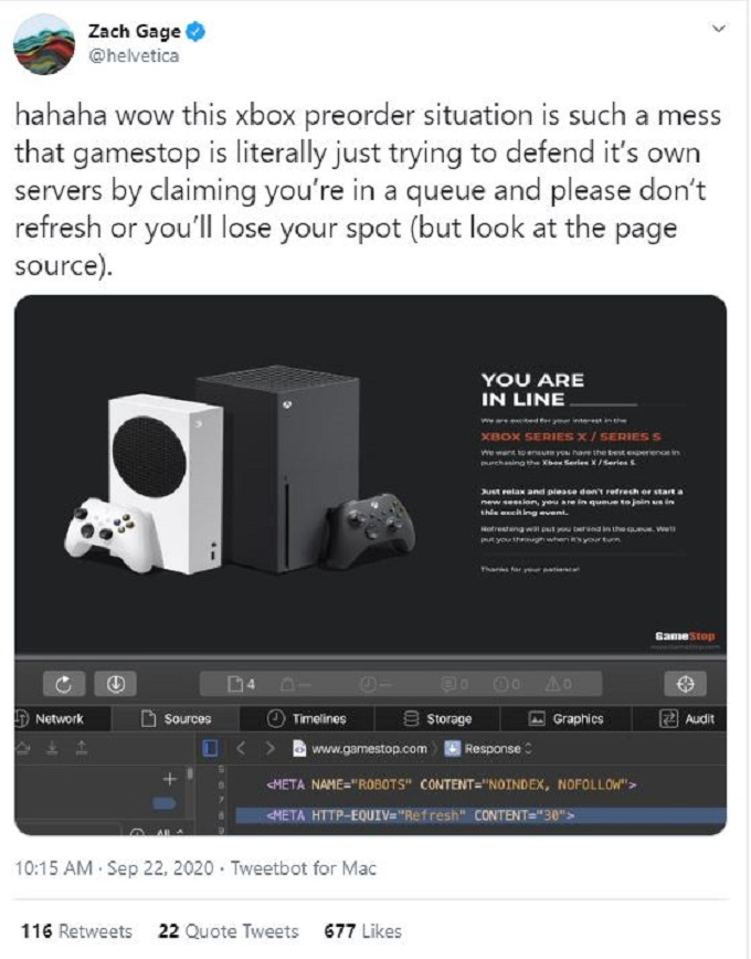 Xbox Series X and S preorder