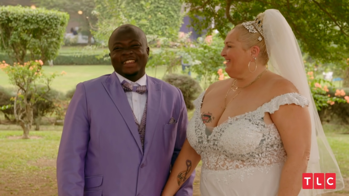 Angela and Michael on 90 Day Fiance Happily Ever After