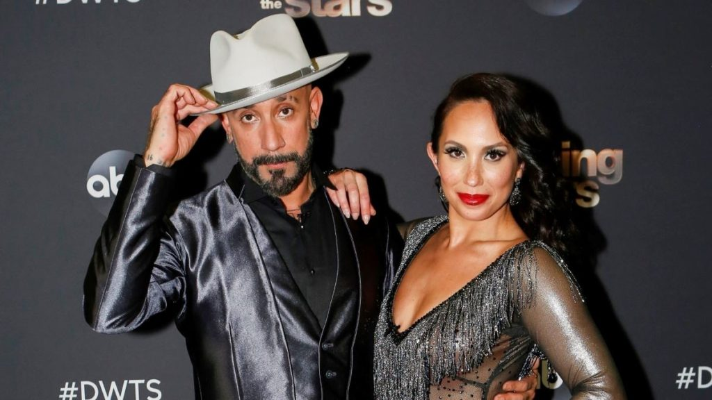 AJ McLean reveals why he broke down in tears on Dancing with the Stars