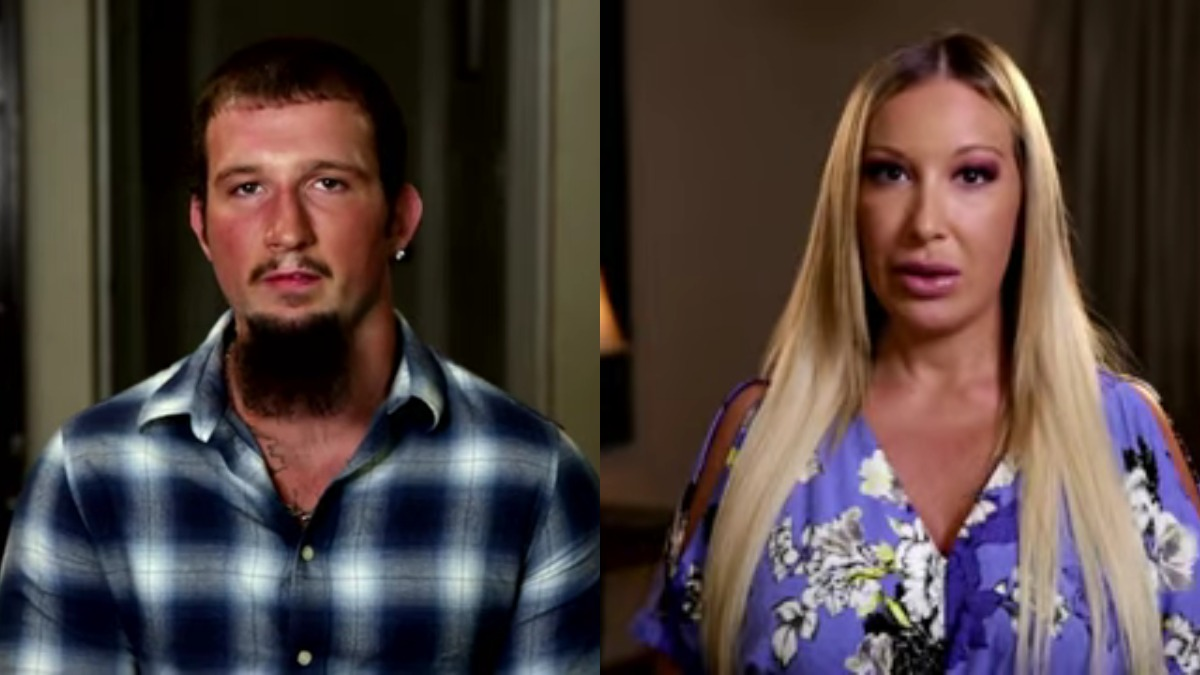 Shane and Lacey in their Life After Lockup confessionals.