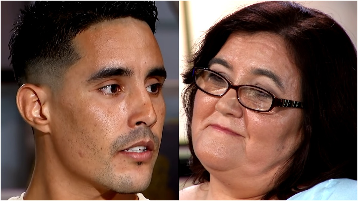 Danielle and Mohamed on 90 Day Fiance