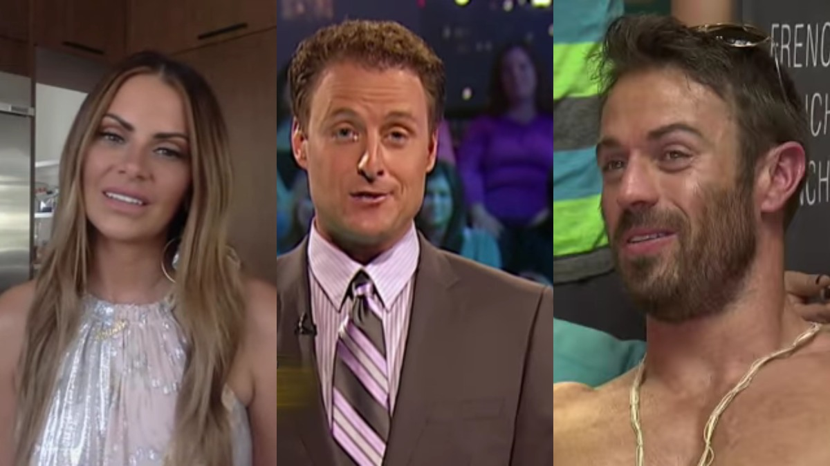 Michelle Money, Chris Harrison, Chad Johnson from the Bachelor franchise.