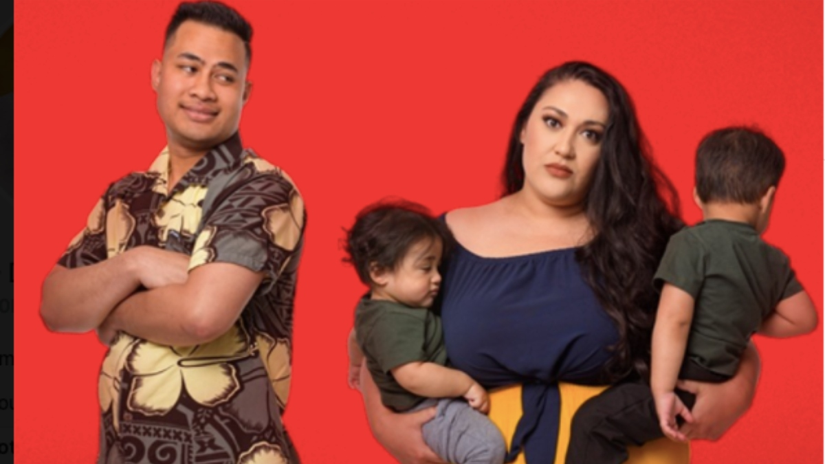 Kalani and Asuelu on 90 Day Fiance: Happily Ever After? Pic credit: TLC