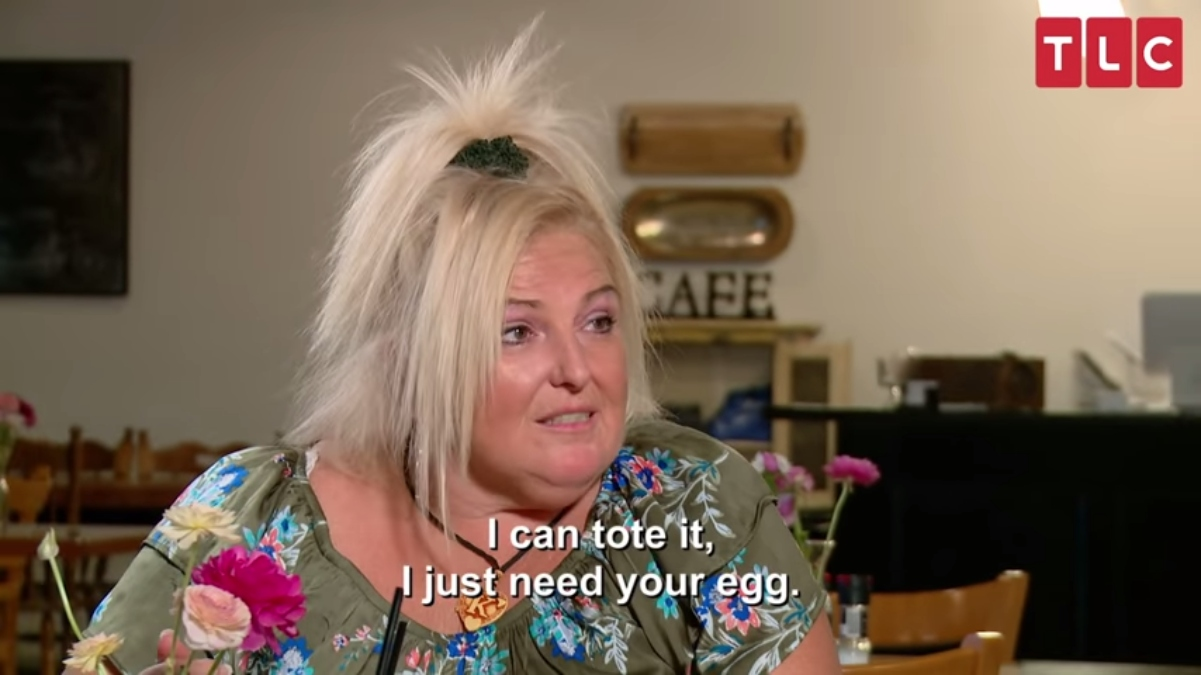 Angela Deem gave fans the most quotable 90 Day Fiance moment. Pic credit: TLC