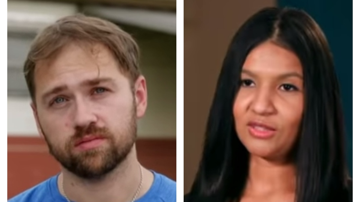 Paul and Karine on Happily Ever After? Pic credit: TLC