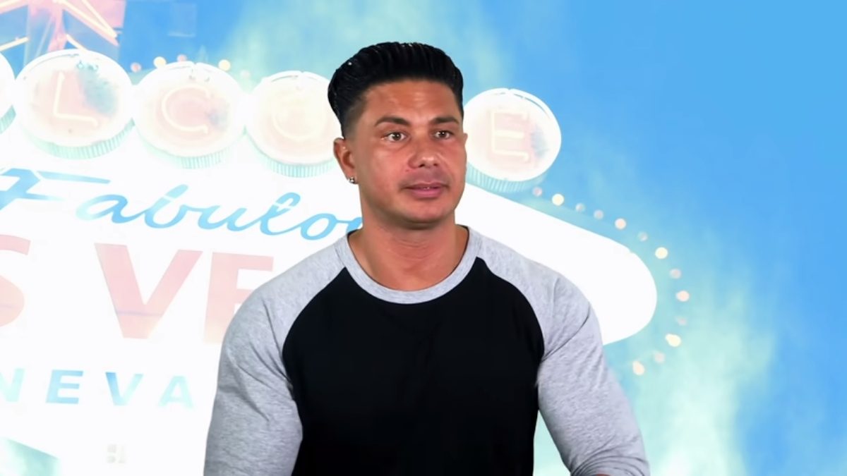 Pauly D on Double Shot at Love. Pic credit: MTV