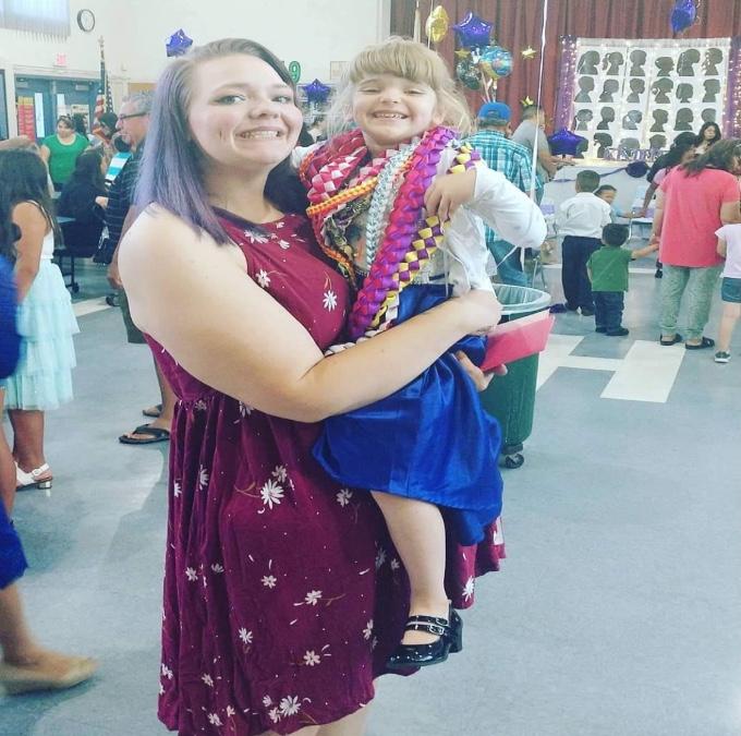 Marissa Jess with God Daughter