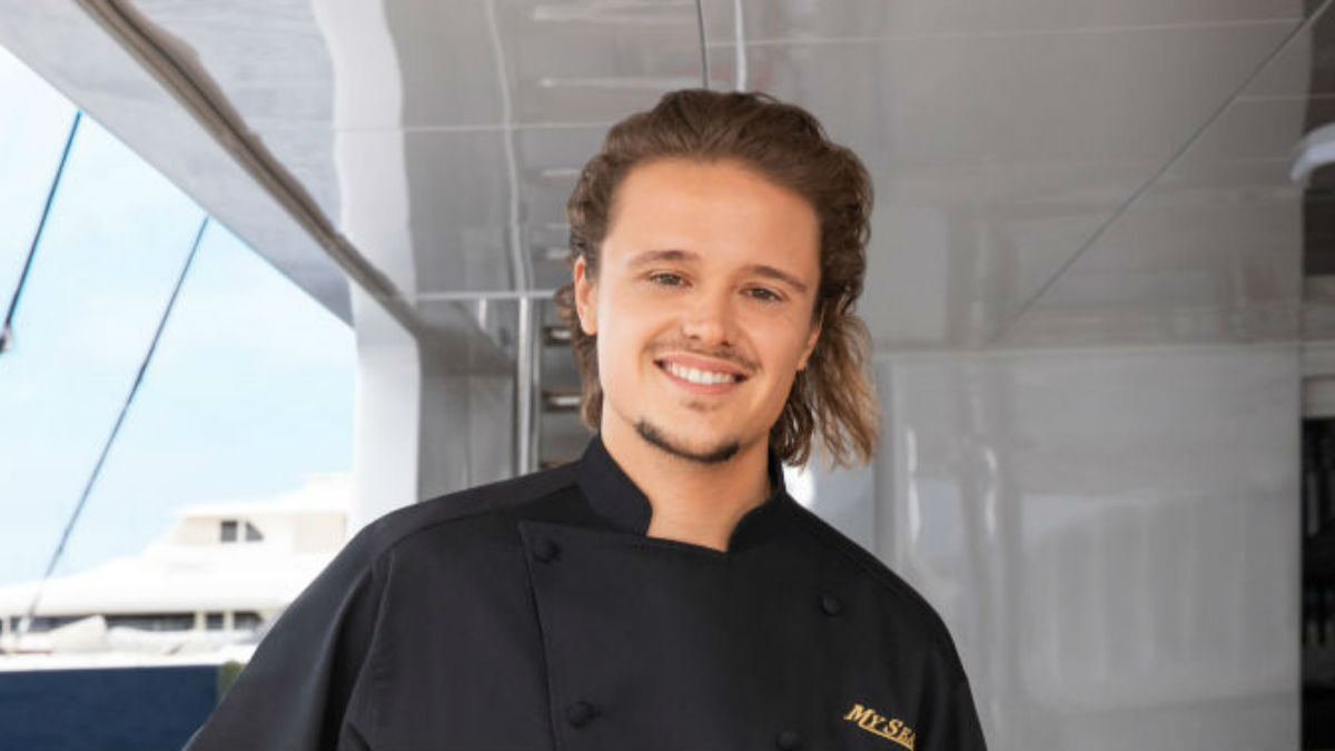 Below Deck Season 6 chef Adrian Martin.