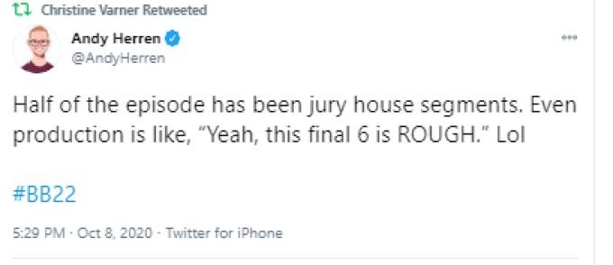 Andy On Jury