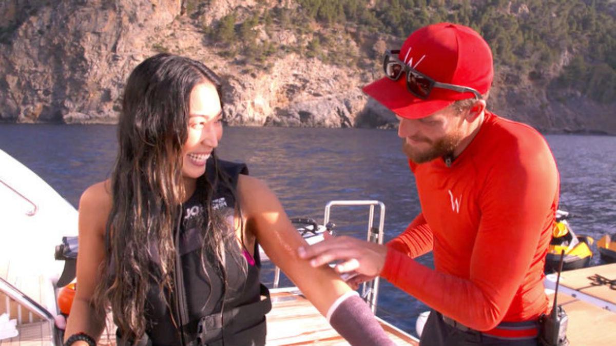 Below Deck Mediterranean star Robert Westergaard did flirt with charter guest in front of Jessica More.