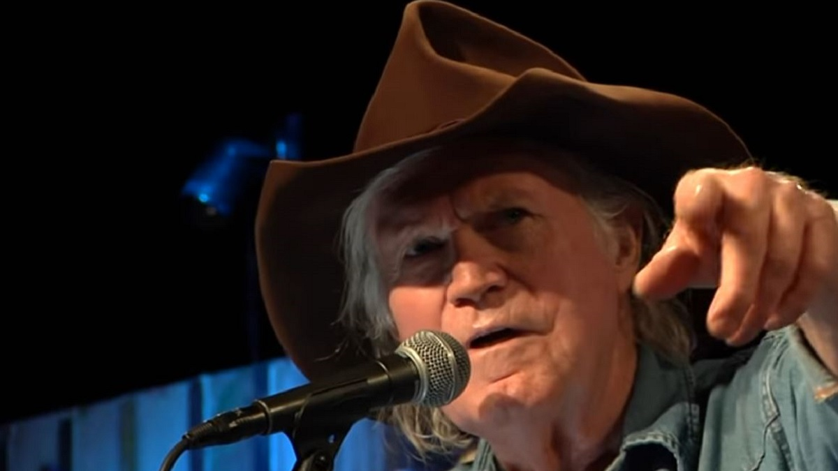 Outlaw country legend Billy Joe Shaver