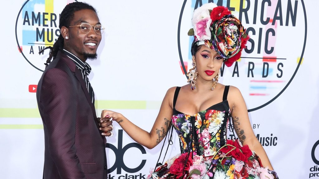 Rapper Cardi B and Offset