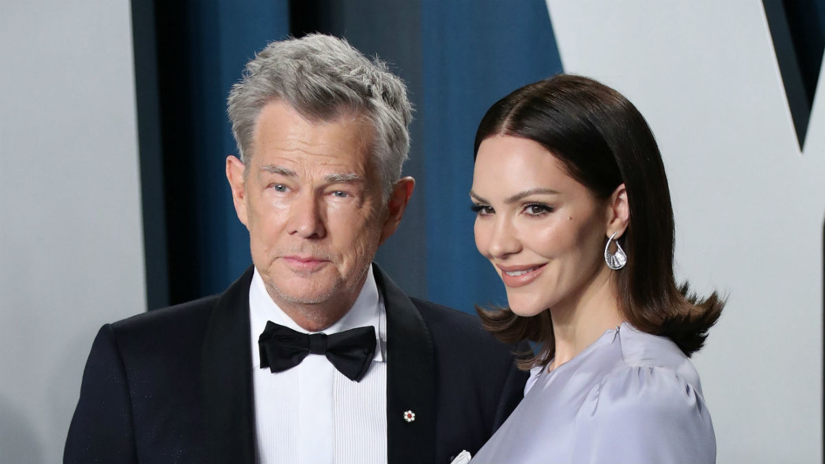 Katherine McPhee and David Foster expecting their first child together.