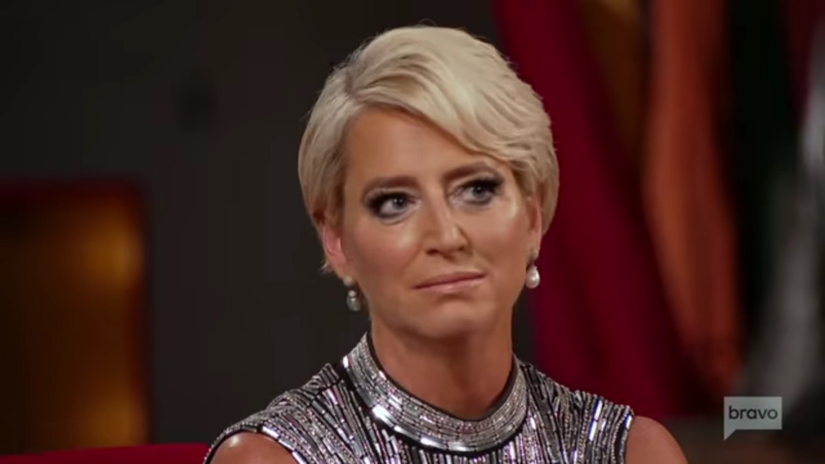 Dorinda Medley at the RHONY reunion.