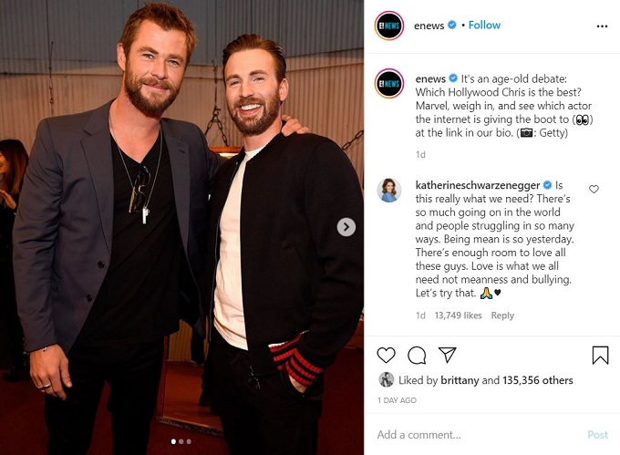 E! News Instagram
