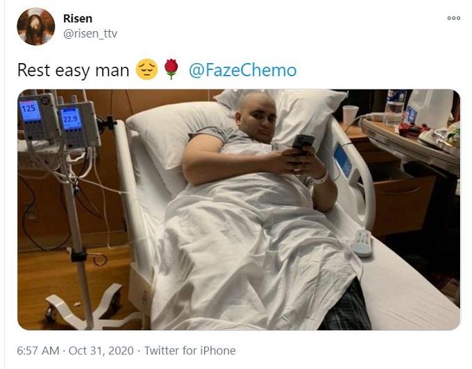 FazeChemo death