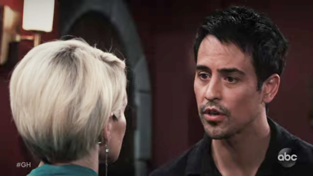 Marcus Coloma as Nikolas on General Hospital.
