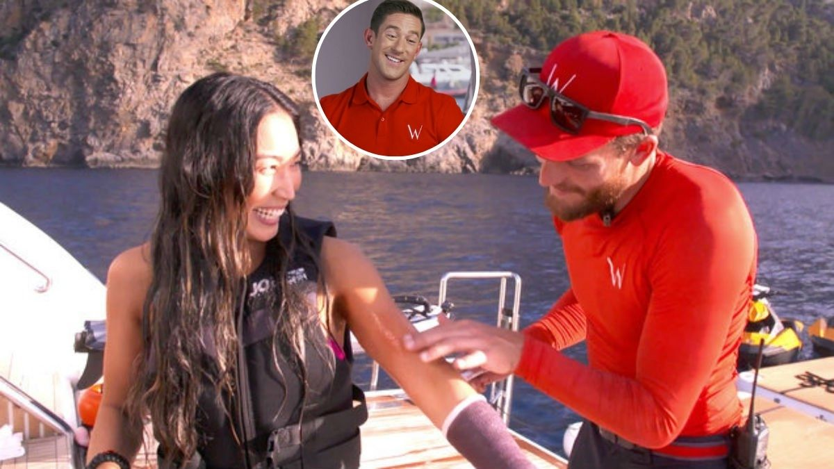 Below Deck Med charter guest sets record straight on meeting cast at club.