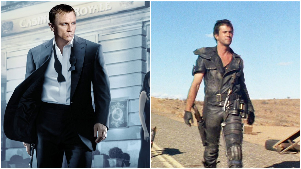 James Bond and Mad Max