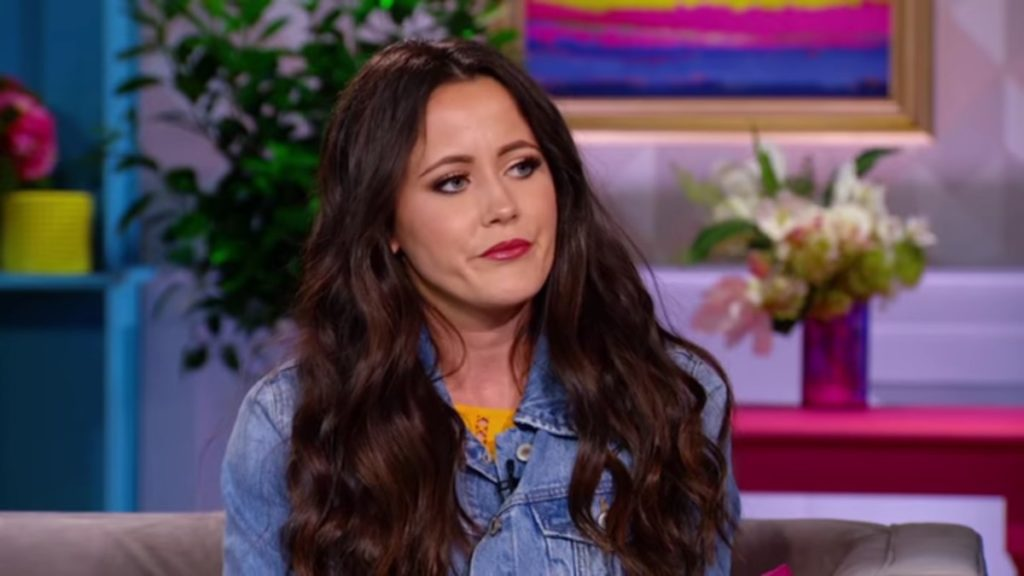 Jenelle Evans at the MTV Teen Mom 2 reunion.