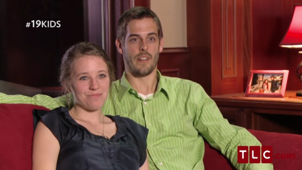 Jill Duggar and Derick Dillard on 19 Kids and Counting.