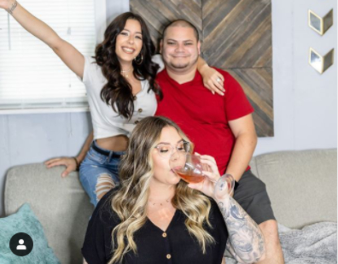 Kail Lowry co-parents with Jo Rivera and Vee Torres