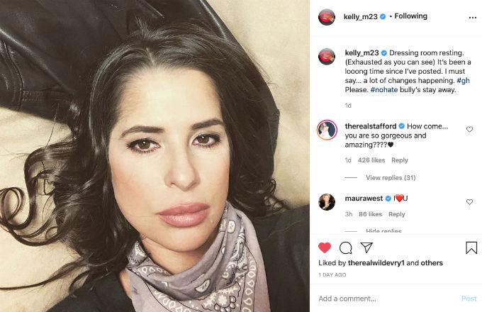 Kelly Monaco Instagram Selfie