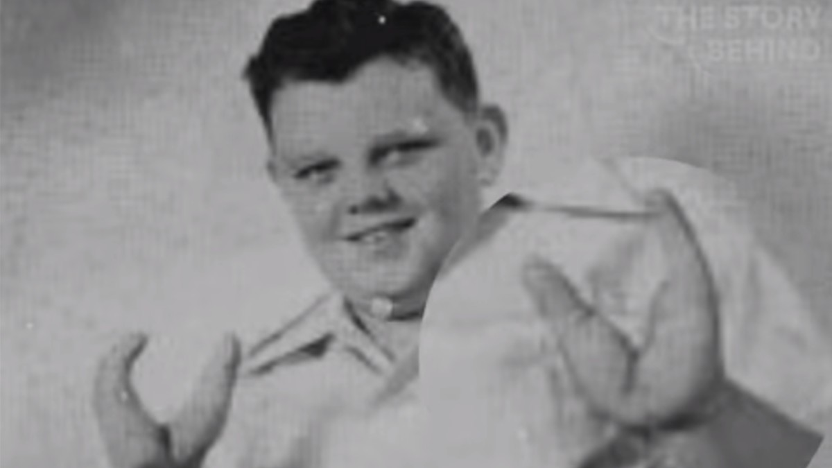 Grady Stiles pictured as a boy