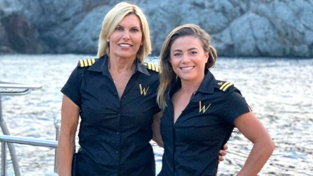 Below Deck Mediterranean fans are over Captain Sandy Yawn and Malia White.