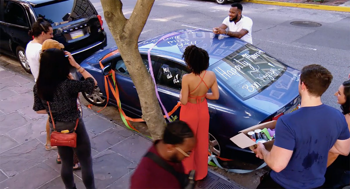 MAFS Season 11 couples decorating Bennett and Amelia's car