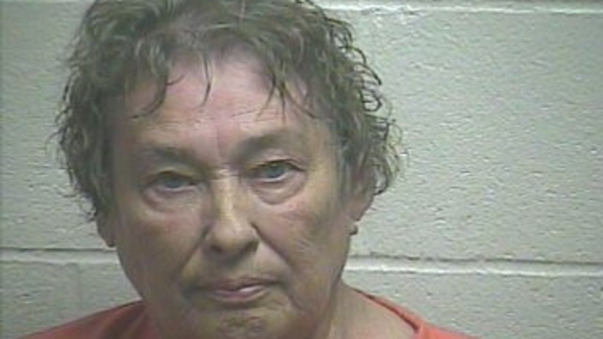 Mugshot of Mary Ann Hughes