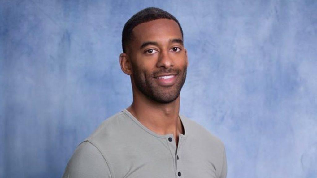 Matt James from The Bachelor