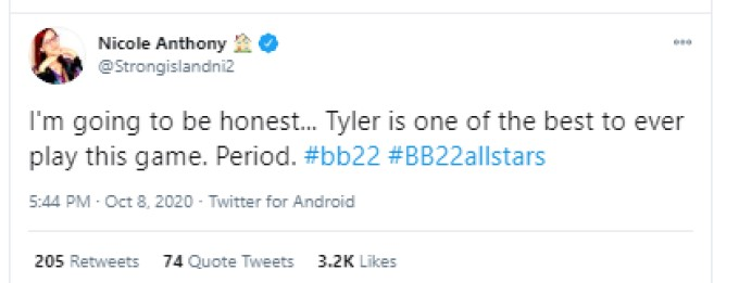 Nicole On Tyler