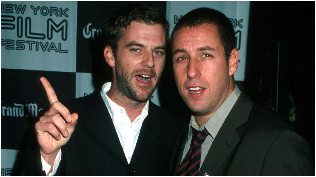 Paul Thomas Anderson and Adam Sandler