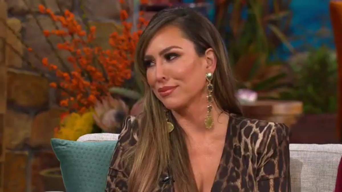 Kelly Dodd at the RHOC reunion.