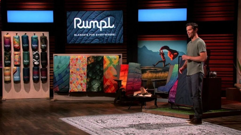 Rumpl on Shark Tank: Here's what makes this blanket special and where to buy it